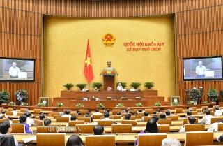 Quốc hội quyết định công tác nhân sự, thảo luận việc giảm thuế thu nhập DN phải nộp năm 2020