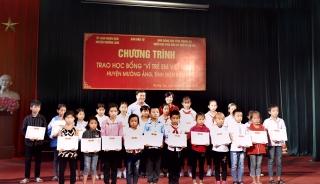 SeABank trao tặng nhà cho hộ nghèo và học bổng khuyến học tại Điện Biên