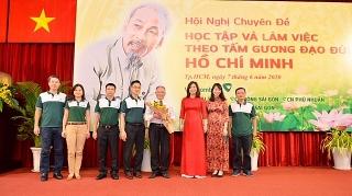 400 cán bộ, nhân viên Vietcombank tại TP. HCM xúc động nghe kể chuyện Bác Hồ