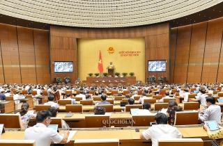 Quốc hội biểu quyết Luật Đầu tư theo phương thức đối tác công tư