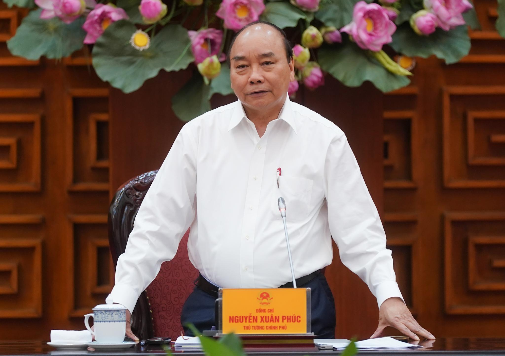 thu tuong chu tri hop thuong truc chinh phu ve co che phat trien dien