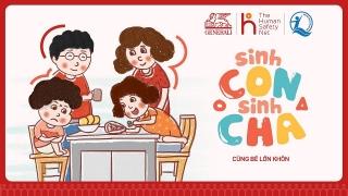 """Ra mắt chương trình giáo dục cộng đồng """"Sinh Con, Sinh Cha"""""""