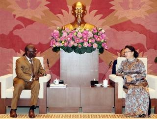 Chủ tịch Quốc hội tiếp Giám đốc quốc gia WB tại Việt Nam