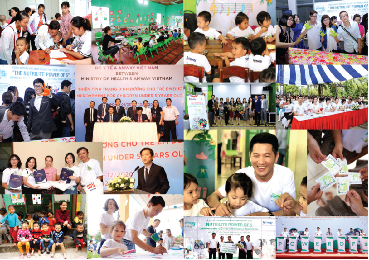 Amway Việt Nam phát hành Báo cáo trách nhiệm xã hội lần 5