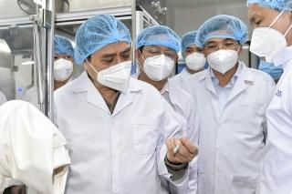 Thủ tướng Phạm Minh Chính: Lập tổ hành động để sản xuất bằng được vaccine phòng COVID-19 nhanh nhất