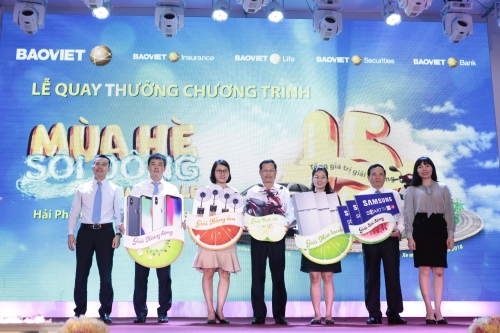 """Bảo Việt đã tìm ra 241 người trúng thưởng tại đợt 1 """"Mùa hè sôi động"""""""