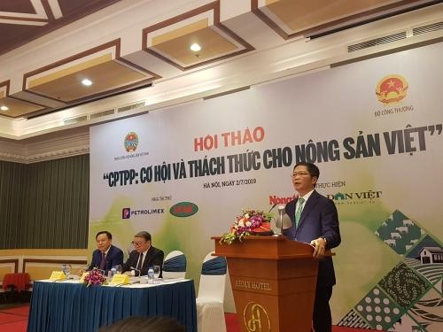 """Nhận diện thách thức của nông sản Việt trước """"sân chơi"""" CPTPP"""