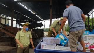 Thu giữ hơn 1 tấn trái cây nhập lậu tại Bình Phước