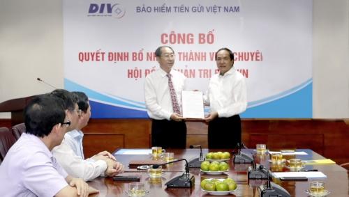 Công bố quyết định bổ nhiệm thành viên HĐQT Bảo hiểm tiền gửi Việt Nam