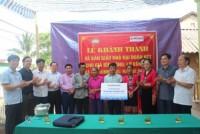 Vietbank trao tặng 2 căn nhà cho hộ nghèo tại Nghệ An