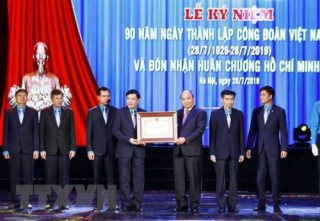 Tổ chức công đoàn Việt Nam: 90 năm đồng hành cùng xây dựng đất nước
