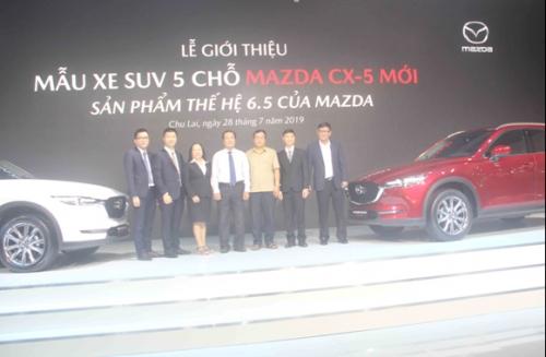 Mazda CX-5 mới chính thức ra mắt thị trường Việt Nam