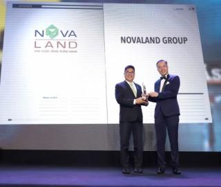 Novaland đạt giải Nhà phát triển dự án bất động sản tốt nhất Việt Nam