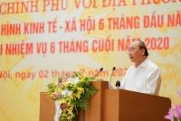 Thủ tướng Nguyễn Xuân Phúc chủ trì hội nghị Chính phủ với các địa phương