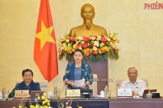 Phiên họp thứ 46 Ủy ban Thường vụ Quốc hội: Tổng kết kỳ họp thứ 9 và xem xét một số nội dung quan trọng