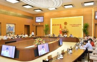 Kỳ họp thứ 10 vẫn tiếp tục kết hợp họp trực tuyến và tập trung