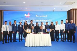 Sacombank và Hội Doanh nhân trẻ Việt Nam ký kết hợp tác