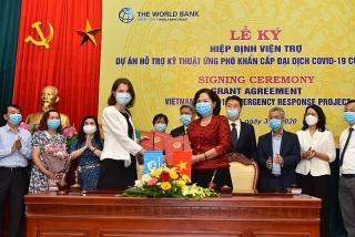 WB viện trợ không hoàn lại 6,2 triệu USD cho Việt Nam ứng phó với COVID-19