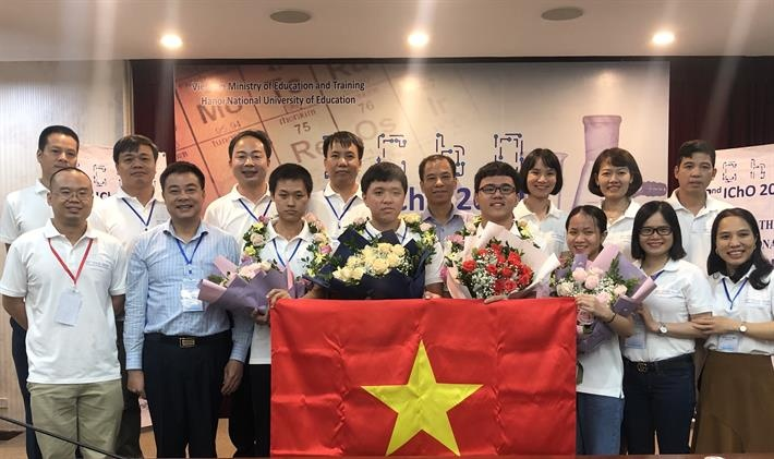 viet nam gianh thanh tich cao nhat lich su tai olympic hoa hoc quoc te 2020