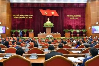 Hội nghị Trung ương 3 thành công tốt đẹp