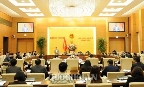 Phiên họp thứ 26 của Ủy ban Thường vụ Quốc hội