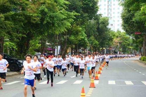SeABank Run For The Future thu hút gần 850 vận động viên