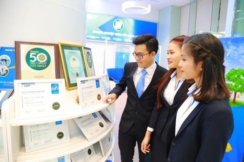 Năm thứ tư liên tiếp, Bảo Việt được Forbes bình chọn top 50 thương hiệu dẫn đầu năm