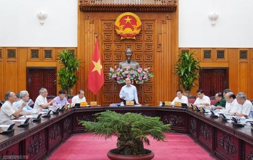 Thủ tướng chủ trì cuộc họp Thường trực Tiểu ban kinh tế - xã hội