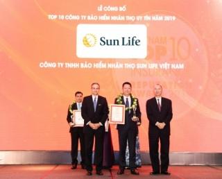 Sun Life Việt Nam: Top 10 bảo hiểm nhân thọ uy tín nhất Việt Nam năm 2019