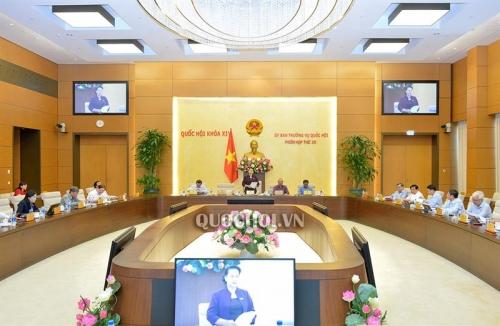 Hôm nay khai mạc phiên họp thứ 36 Ủy ban Thường vụ Quốc hội