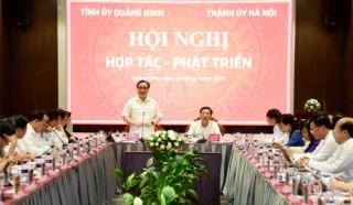 Hà Nội và Quảng Ninh sẽ đẩy mạnh hợp tác một số dự án về kinh tế - xã hội