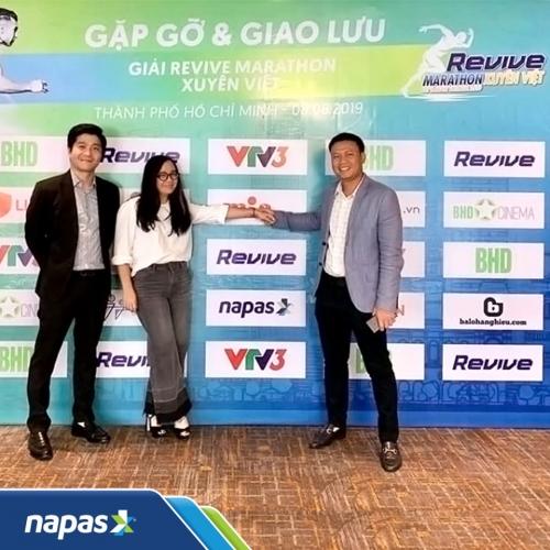 Napas đồng hành cùng revive marathon xuyên Việt