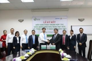 Bảo hiểm Bảo Việt hợp tác bảo lãnh viện phí cùng Bệnh viện Việt Đức