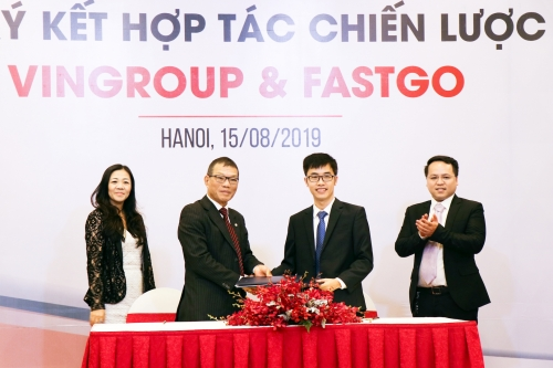 Hợp tác với FastGo: VinFast sẽ cung cấp 1.500 xe Fadil với giá ưu đãi