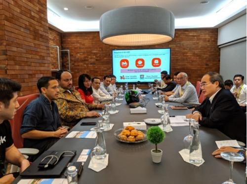 TP. Hồ Chí Minh tham khảo mô hình và giải pháp của Gojek qua GoViet