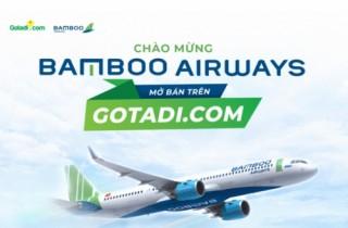 Gotadi.com hợp tác phân phối vé cho Bamboo Airways