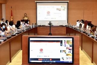 Hội nghị trực tuyến Ủy ban tư vấn Văn phòng tăng cường năng lực của IMF tại Thái Lan