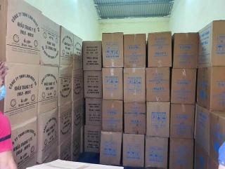 Phát hiện gần 38 nghìn hộp khẩu trang không rõ nguồn gốc