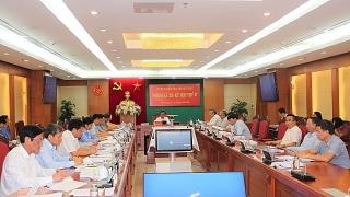 Ủy ban Kiểm tra Trung ương xem xét, đề nghị thi hành kỷ luật một số cán bộ
