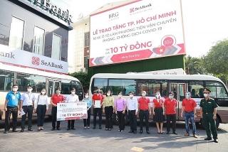 Tập đoàn BRG cùng SeABank chung tay hỗ trợ chính quyền và người dân TP. Hồ Chí Minh
