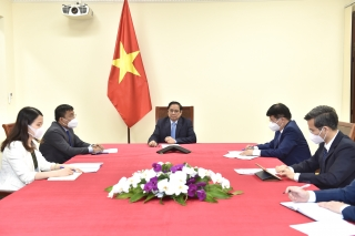 Pfizer sẽ đẩy nhanh tiến độ giao vaccine cho Việt Nam