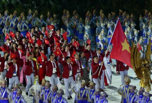 Đoàn thể Thảo Việt Nam tại ASIAD 2018