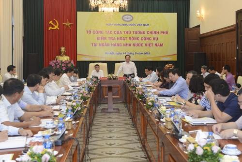 NHNN đã chấp hành nghiêm các quy định về hoạt động công vụ
