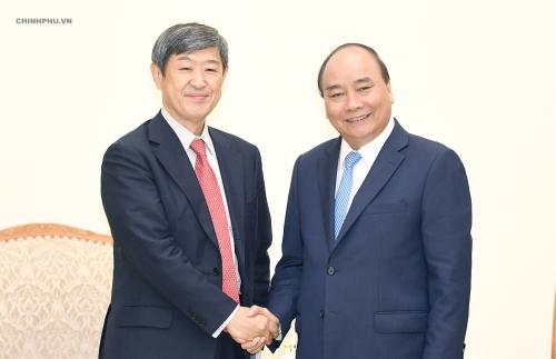 Thủ tướng Chính phủ tiếp Chủ tịch Cơ quan Hợp tác quốc tế Nhật Bản