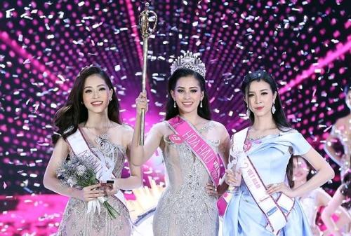 Cô gái 18 tuổi Trần Tiểu Vy đăng quang Hoa hậu Việt Nam 2018   Văn hóa xã  hội