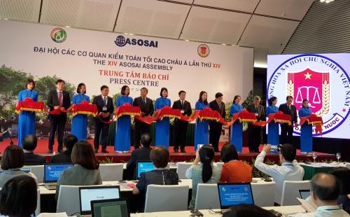 Trung tâm Báo chí Đại hội ASOSAI 14 đã chính thức khai trương