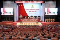 950 đại biểu tham dự Đại hội Công đoàn Việt Nam lần thứ XII