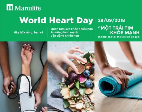 Thực hiện chiến dịch nâng cao nhận thức chăm sóc sức khỏe tim mạch