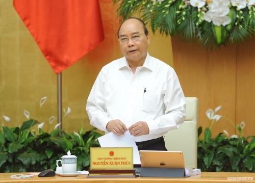 Thủ tướng chủ trì họp Chính phủ thường kỳ tháng 8/2019