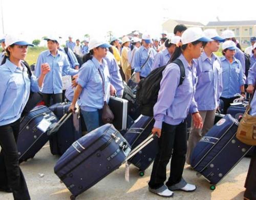 Người huyện nghèo đi xuất khẩu lao động được vay 100% vốn ưu đãi tại NHCSXH